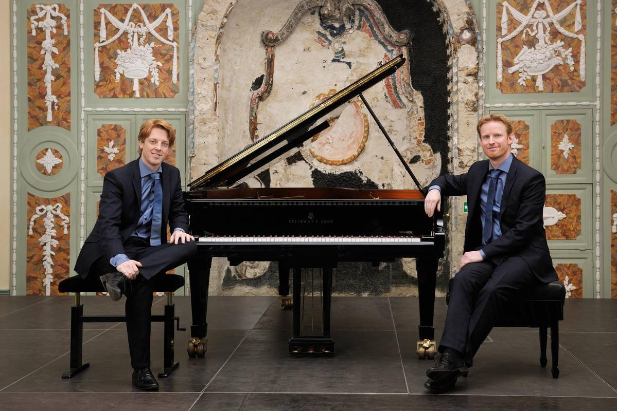 Klavierduo Martijn und Stefan Blaak