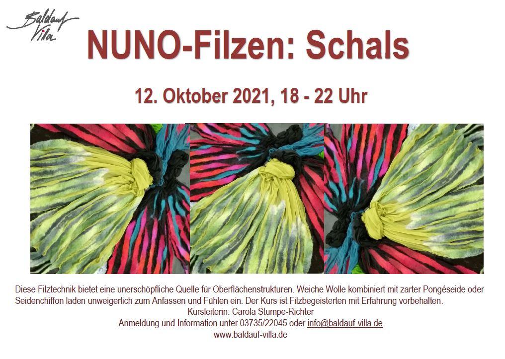 Kurs NUNO-Filzen: Schals